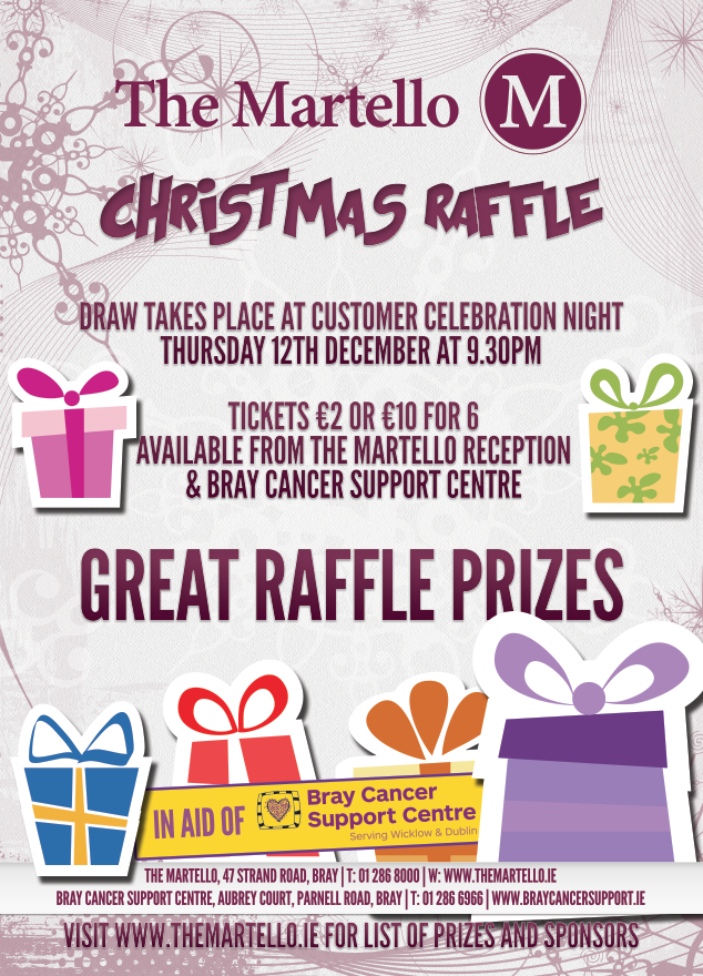 Christmas raffle winners purple house cancer support for Christmas raffle poster templates